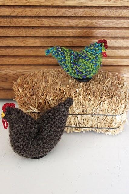 knit chicken Knitting Pinterest