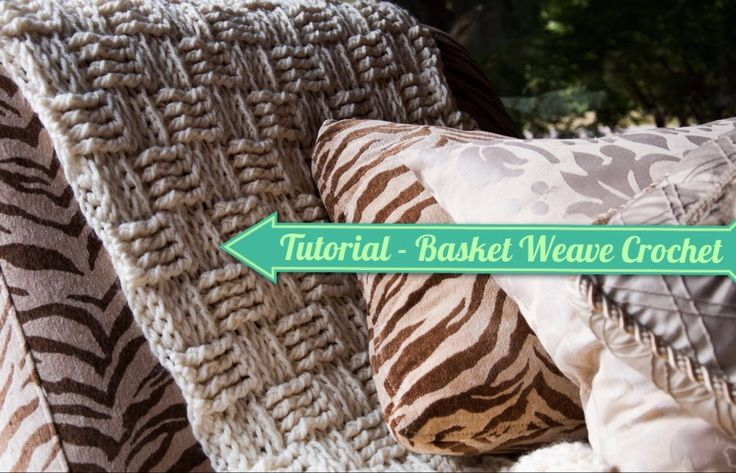 Basket Weave Tutorial Crochet : Basket weave crochet stitch knit