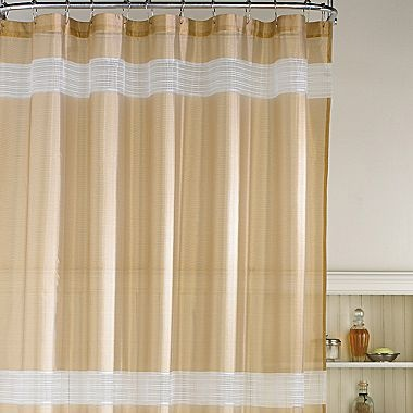 jc penney sheer curtains striped sheer shower curtain jcpenney royal themed j c penney. Black Bedroom Furniture Sets. Home Design Ideas