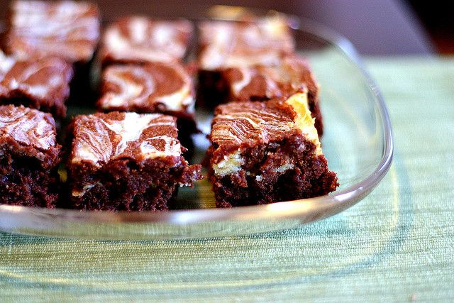 Cream Cheese Marbled Brownies | Epicure: Desserts / Sweets | Pintere ...