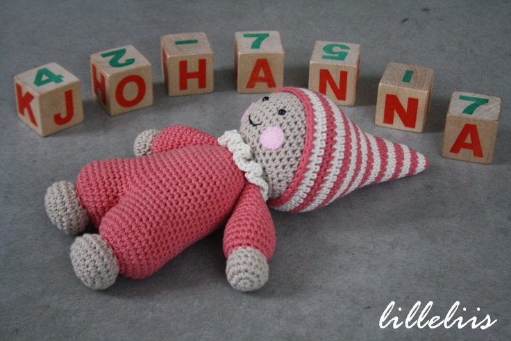 Amigurumi Cuddly Baby : PATTERN - Cuddly-baby, amigurumi baby doll, crochet toy