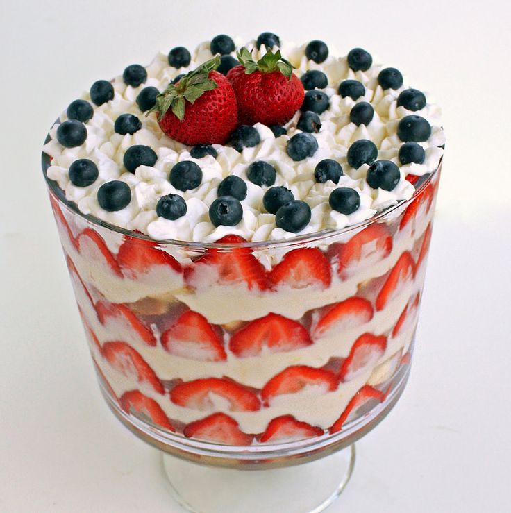 4th of july trifle recipe healthy