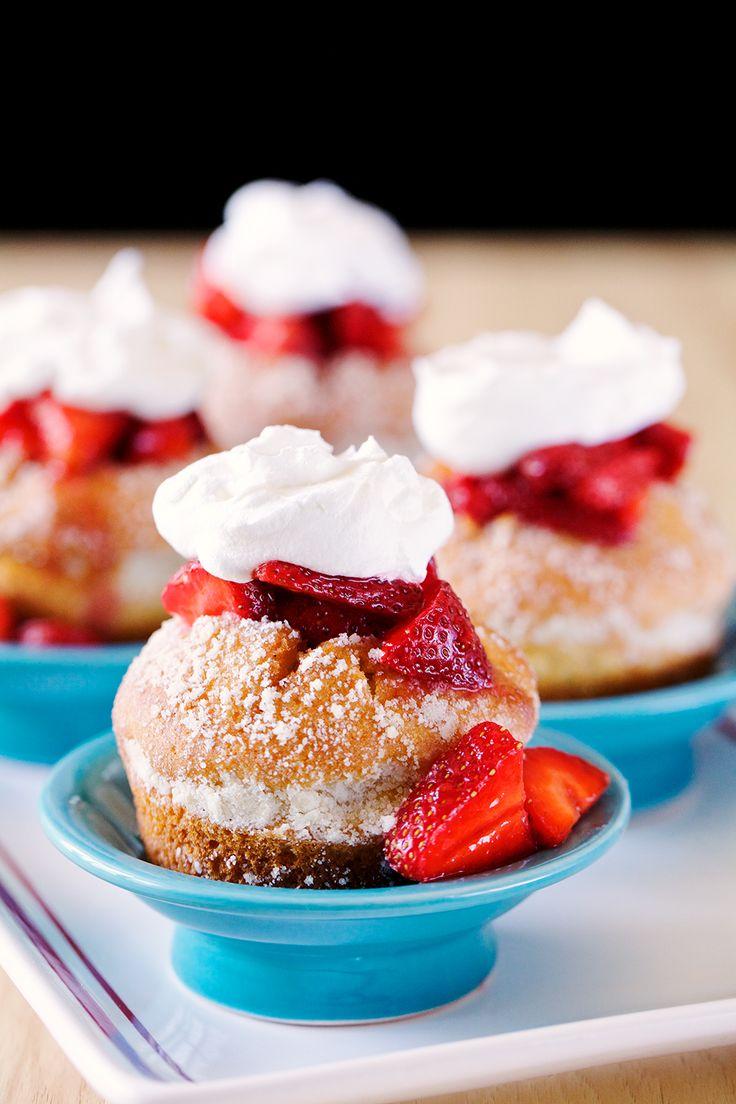 4th of July Dessert Inspiration: #GlutenFree Strawberry Shortcake Sensations