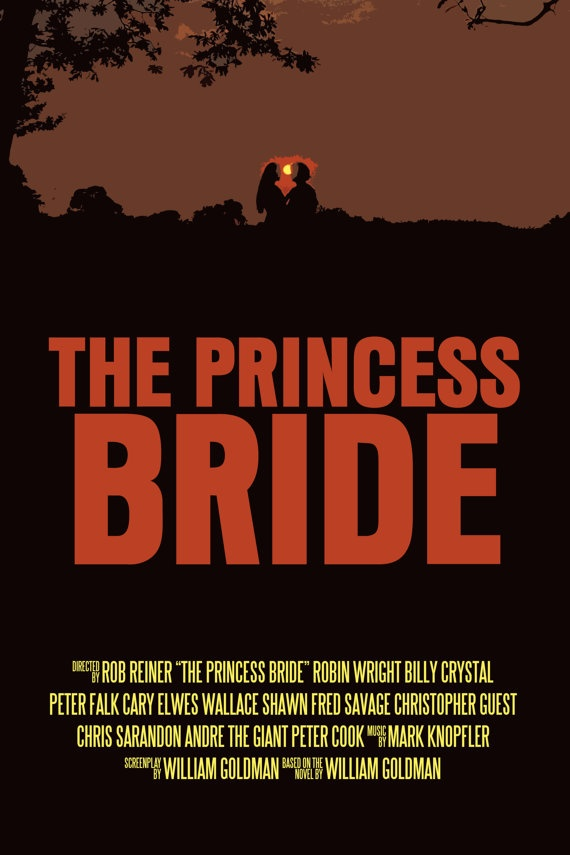 essays on the princess bride As mentioned earlier, the video uses a narration told by a grandfather (peter falk) to his sick grandson (fred savage) with the keen interest in the cinemato.