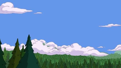 Adventure Time Landscape Adventure Time Pinterest