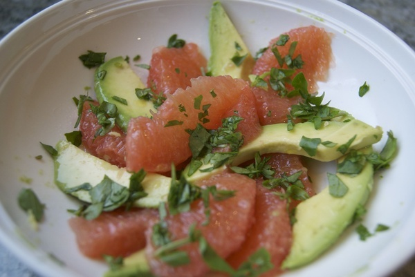 Avocado Citrus Salad | Food | Pinterest