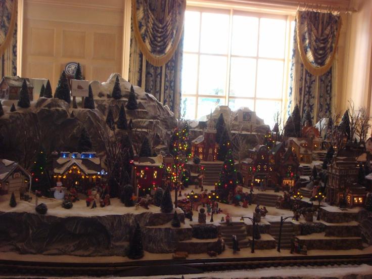 Department 56 Disney Christmas Village