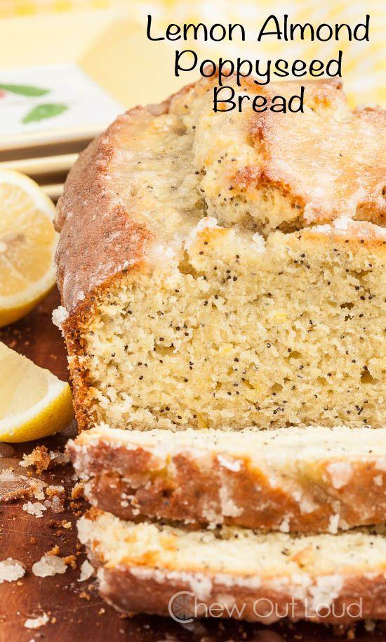Lemon Almond Poppy Seed Bread | Recipe