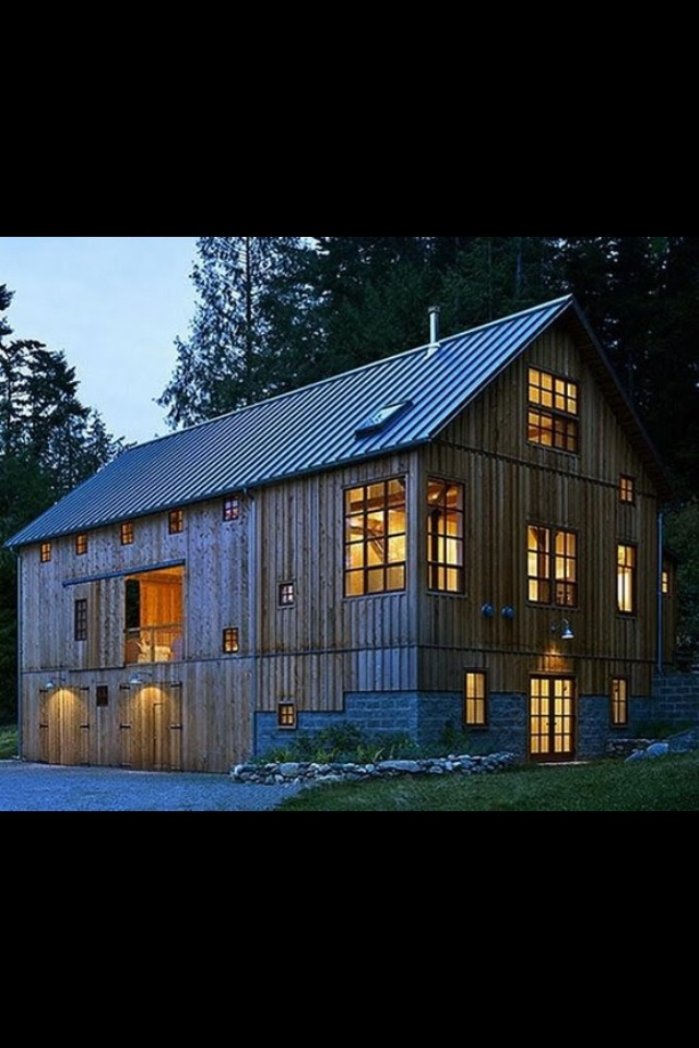 An Old Barn Converted Into A Home Beautiful Spaces Pinterest
