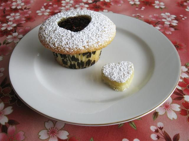 linzer cupcakes cupcakes muffins pinterest