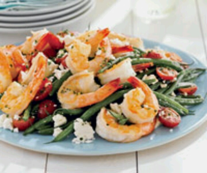 Green bean and shrimp salad | LookBook- To Eat | Pinterest