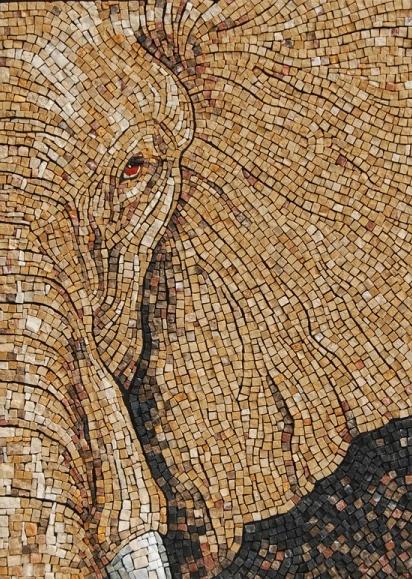elephant mosaic! | Para Yvonne | Pinterest