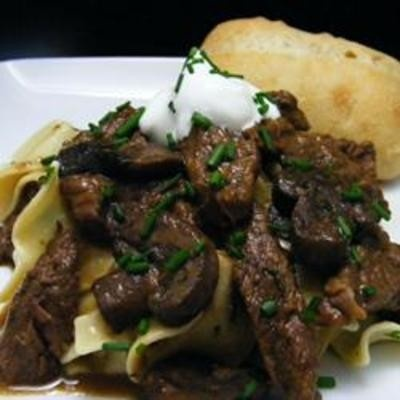 Chef John's Classic Beef Stroganoff - Click image to find more Food ...
