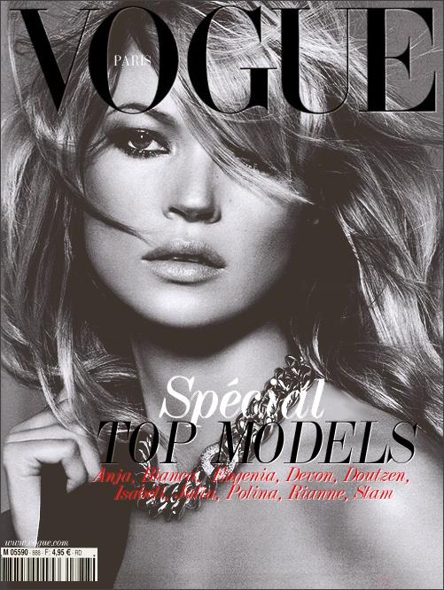 Vogue Paris 2009 Kate Moss