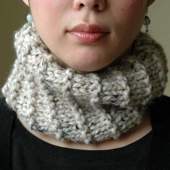 Knitting Pattern For A Cowl Neck Scarf : knitted Cowl neck scarf Knitting Pinterest