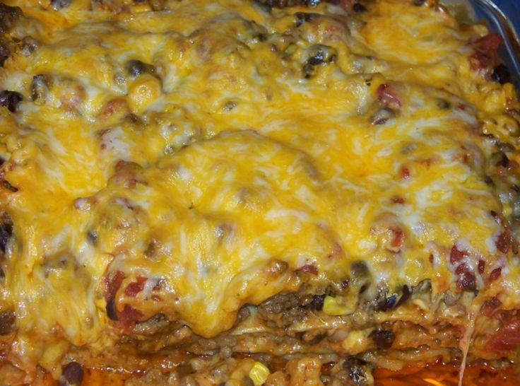 Mexican Lasagna II Recipes — Dishmaps