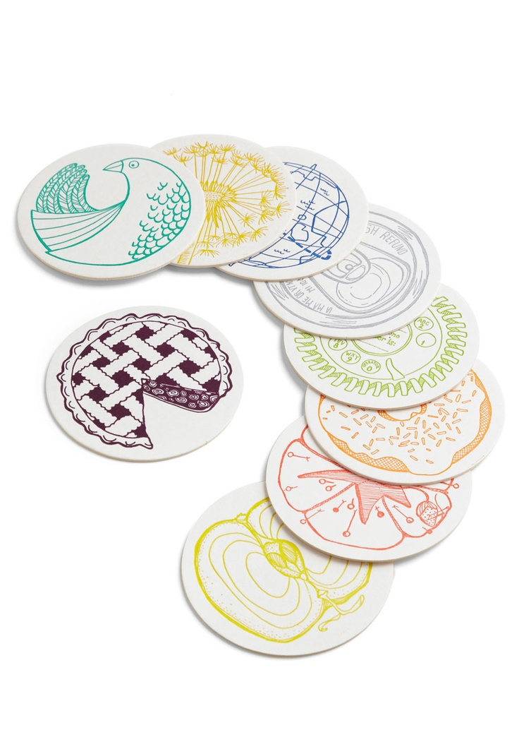 think i'd use these as art & not as coasters