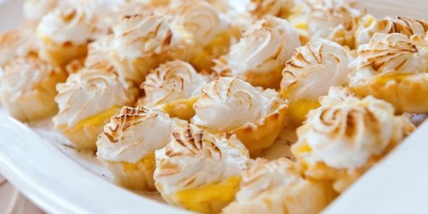 Tangy Mini Lemon Meringue Tarts