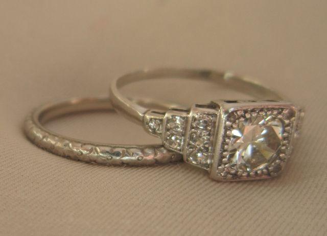 Reproduction Diamond Rings