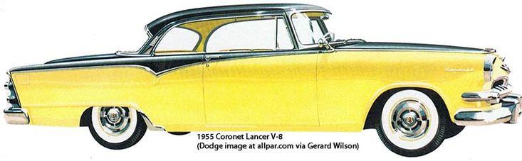 1955 dodge coronet lancer 2 door hardtop dodge 1955 for 1955 dodge coronet 4 door