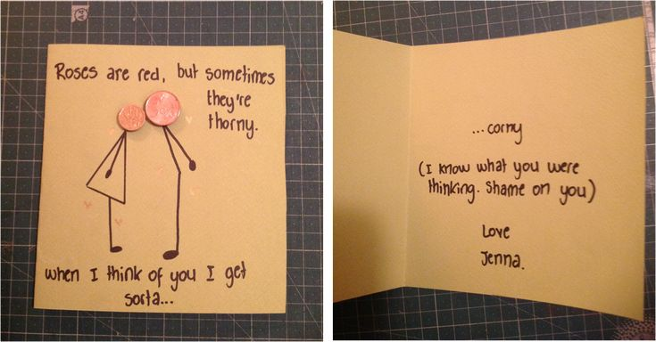 Boyfriends Birthday Card I Laughed For Like  Minutes For The Bf Pinterest Boyfriend