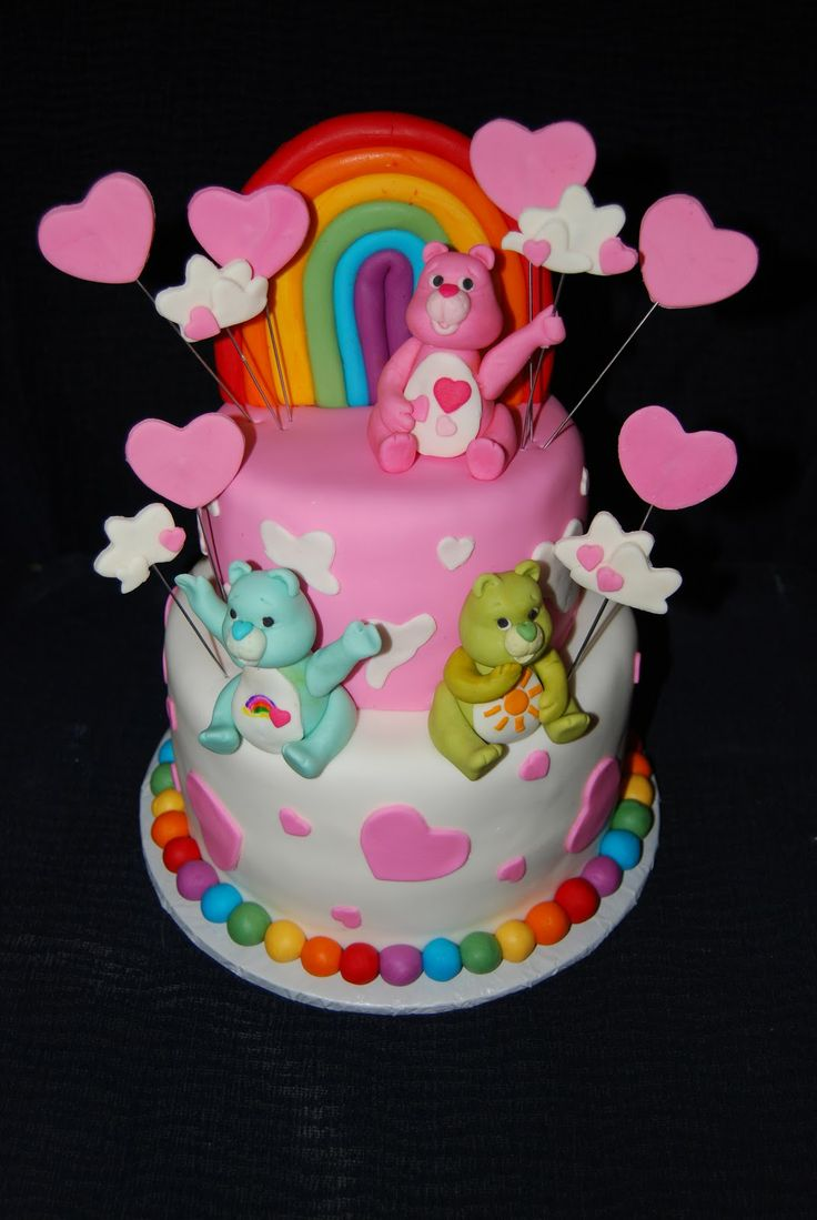 Leelees Cake-abilities: Care Bears Cake