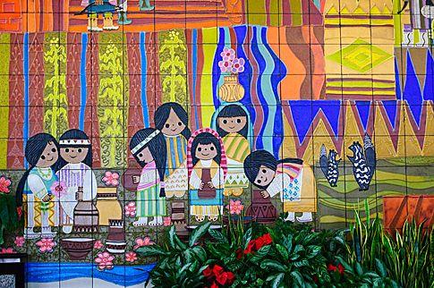 Contemporary resort mural disney pinterest for Contemporary resort mural