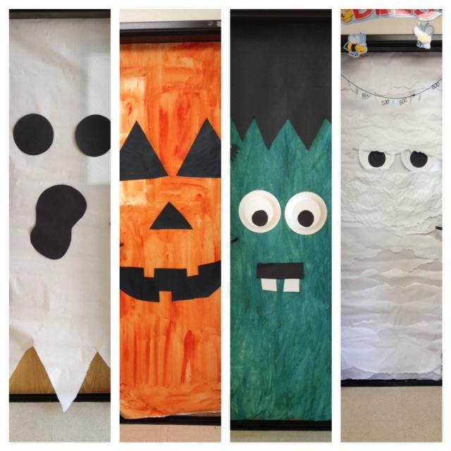 Decorating Ideas > Halloween Doors At School  Classroom Misc  Pinterest ~ 030234_Halloween Door Decorations For School