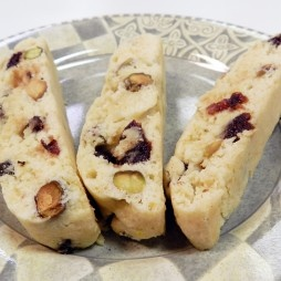 Dried Cherry and Pistachio Biscotti | Sweets to eat... | Pinterest