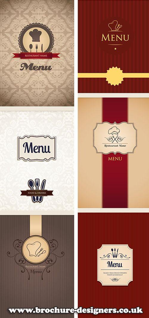 restaurant menu design ideas menu