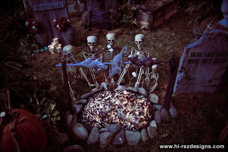halloween yard haunt ideas hi rez designs yard haunt a lissproductions