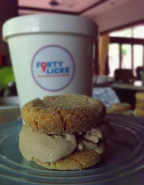 Earl Grey tea ice-cream by Forty Licks Ice-cream, and Lemon Sugar ...