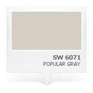 SW 6071 Popular Gray Paint Colors Pinterest