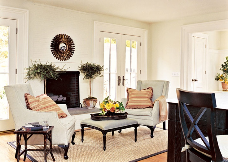 Keeping room with fireplace for the home pinterest for Keeping room ideas