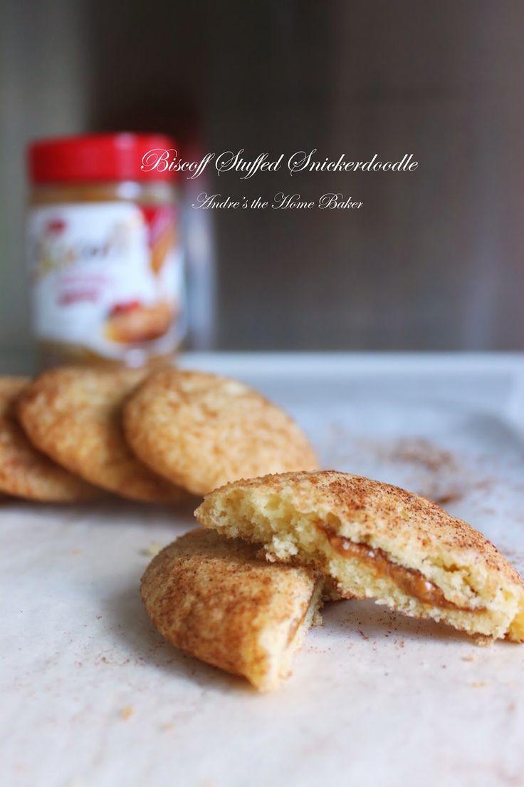 Biscoff Stuffed Snickerdoodles ♥ | Cookies n' Bars | Pinterest