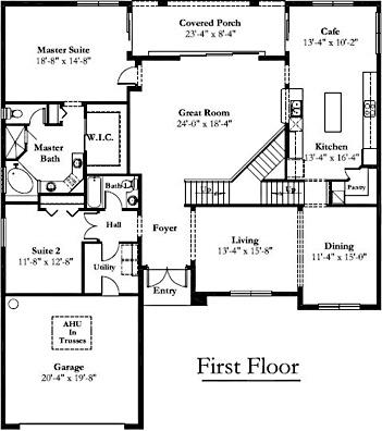 New house plan house design for Mercedes homes floor plans