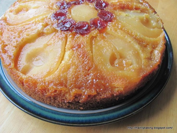 upside down cake apple upside down cake cranberry upside down cake ...