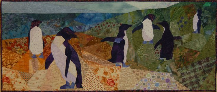 penguin quilt