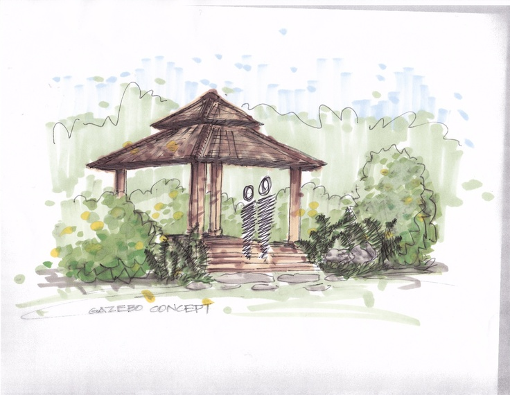 Pin by heather moll dunn landscape design on style asian for Landscape and garden design sketchbooks