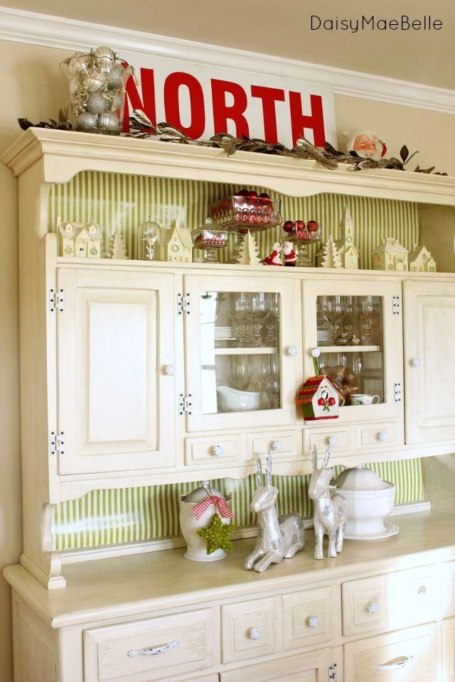 Decorating Ideas > Pin By Christie Wojo On Plain Amazing  Pinterest ~ 012415_Christmas Decorating Ideas Hutch