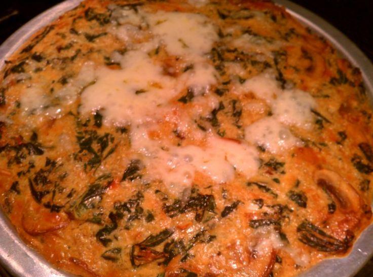 Yum... I'd Pinch That! | Quinoa and Kale Crustless Quiche