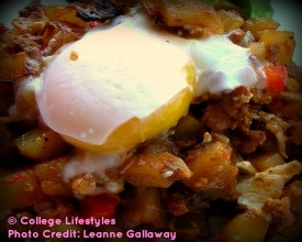 Steak Hash with Poached Eggs | Summer Recipes | Pinterest