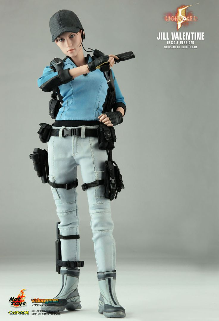 jill valentine hot toys battle suit