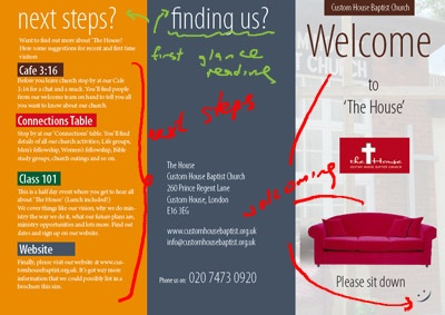 welcome brochure template - church brochure samples google search welcome center