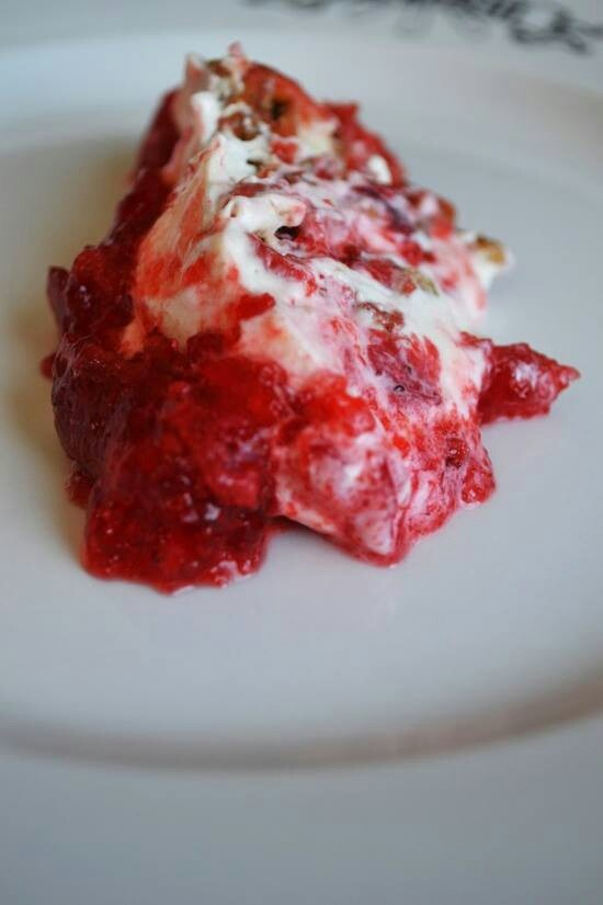 Strawberry Pretzel Salad | Dessert Breads, Pastries and Puddings | Pi ...