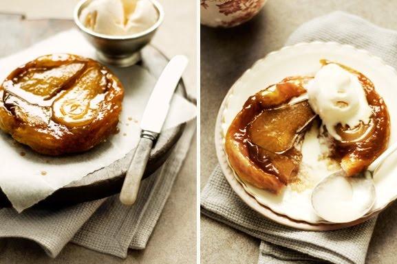 Caramel Pear Tarts Recipe — Dishmaps