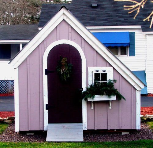 Hardware Shed DIY Plans, 6x10 Garden Storage Shed, Playhouse Cottage