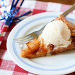 All-American Apple Crostata with Cheddar Crust