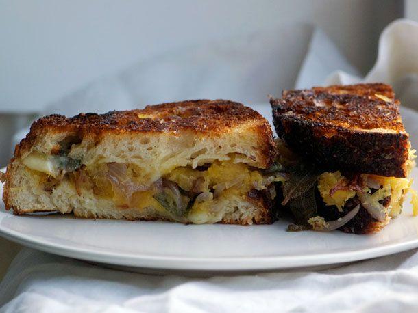 Spaghetti Squash Grilled Cheese Sandwiches | Recipe