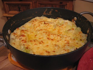 Cheesy Colcannon with Leeks | A Side of Yummy | Pinterest